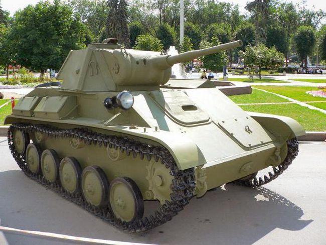 Фото - Т -70 (танк): історія. Технічні характеристики, опис, фото танка