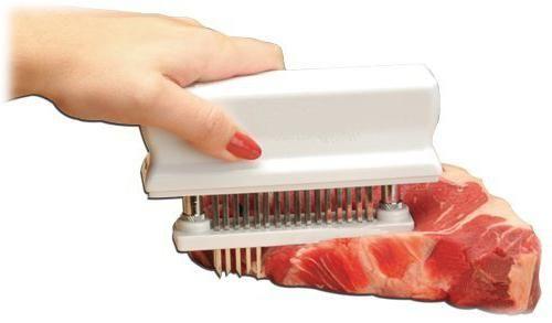 для відбивання м'яса тендерайзери