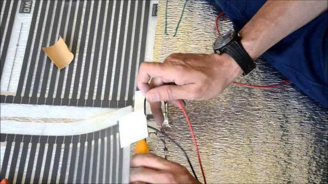 тепла підлога електричний під лінолеум