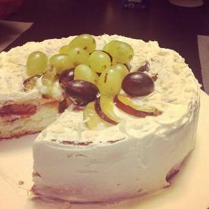 Фото - Торт зі сливами - десерт для сімейного чаювання