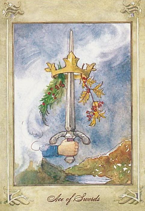 Фото - Туз мечів (таро): значення і тлумачення карти