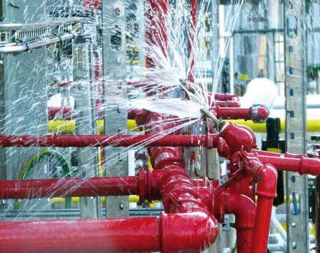 Фото - Установка автоматичної системи пожежогасіння. Пожежна сигналізація