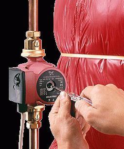 Фото - Установка насоса в системі опалення будинку. Як правильно встановити циркуляційний насос?