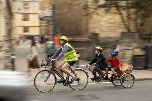 велоприцеп для дітей своїми руками