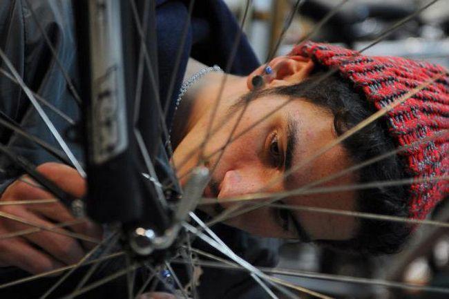 ремонт вилки велосипеда своїми руками