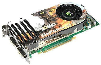 GeForce 8800 GT порівняння
