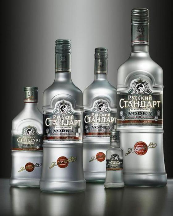 російський стандарт горілка