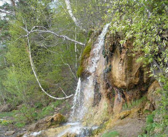 Фото - Водоспад плакун (пермський край) - перлина уралу