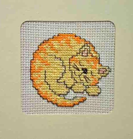 Фото - Вишивка хрестом: кіт. Схема, опис, варіанти