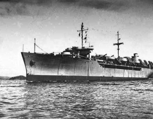 аварія суден у морі