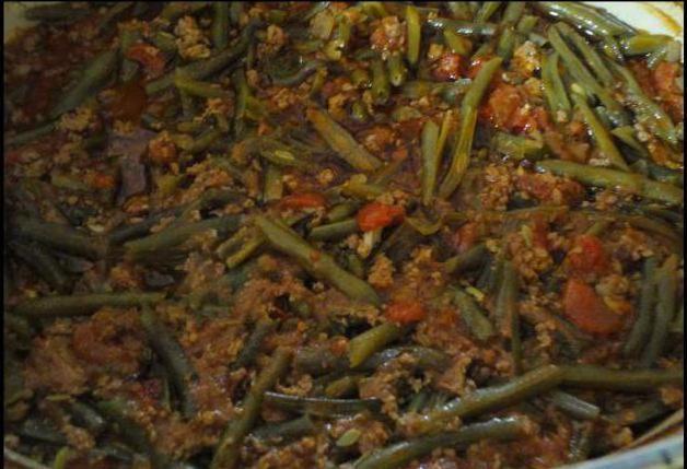 заготовки на зиму баклажани з квасолею