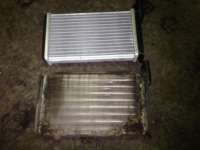 Фото - Заміна радіатора грубки ваз-2115 без зняття панелі