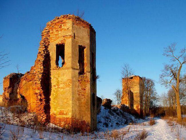 Гольшанський замок примари