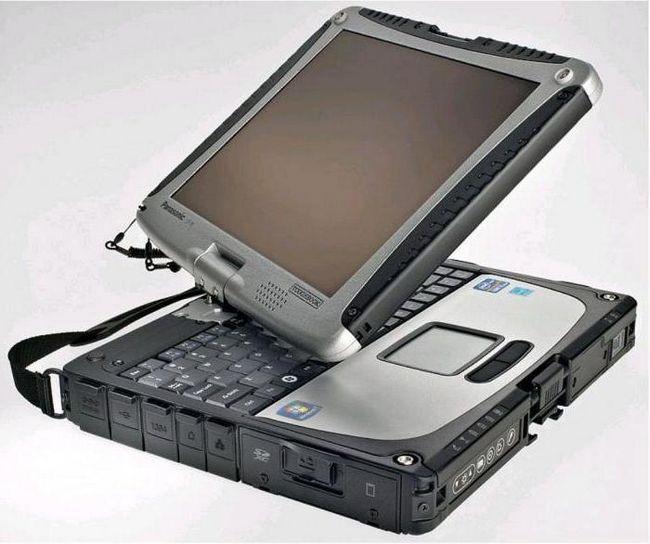 захищений ноутбук Panasonic