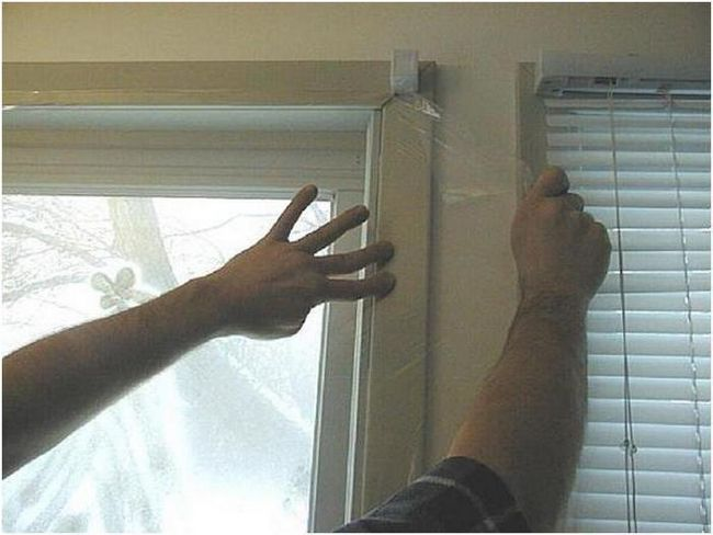 як зняти захисну плівку з вікон