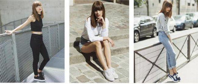 Фото - Завищені кеди - це модне взуття