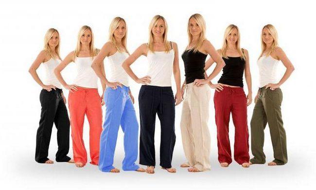 Фото - Жіночі лляні штани: з чим і куди носити і як доглядати