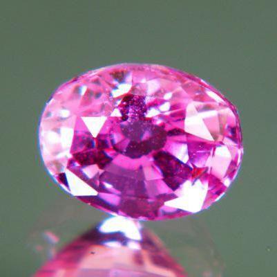 сережки з рубіном і діамантами