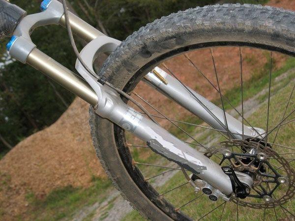 вилка велосипедна амортизаційна