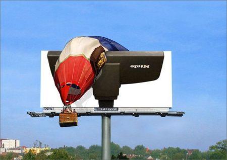 реклама на білбордах