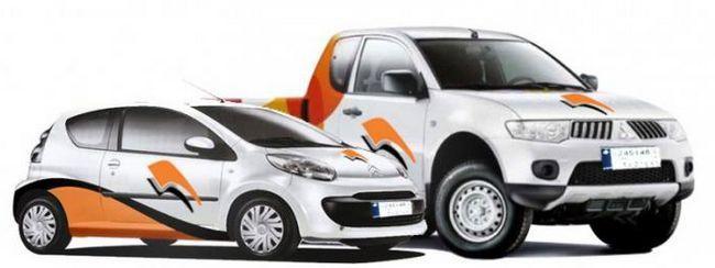 Фото - Брендування автомобілів - новий вид реклами