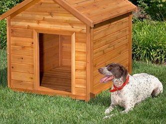 Фото - Будка для собаки: правила побудови, розрахунок розмірів і необхідні матеріали