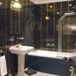 Фото - Швидкий ремонт ванної кімнати пластиковими панелями