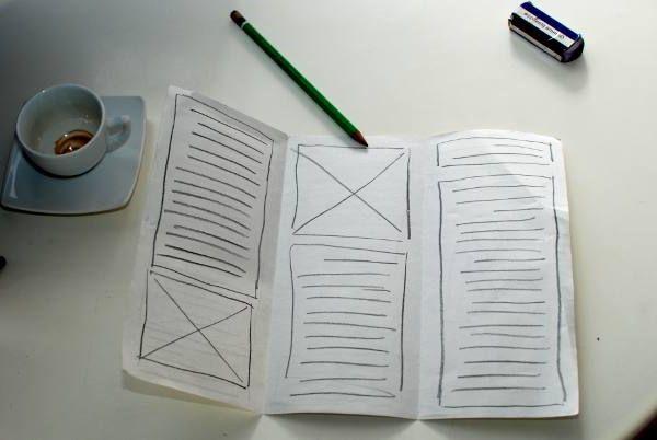 як зробити брошуру