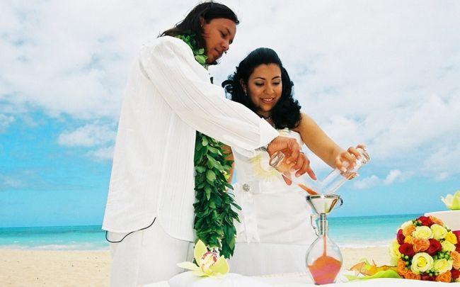 Фото - Що таке пісочна церемонія на весіллі?