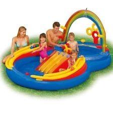 Дитячі басейни з гіркою