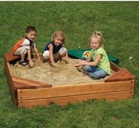 Фото - Дитячі пісочниці з кришкою для дачі: весело малюкам, зручно батькам