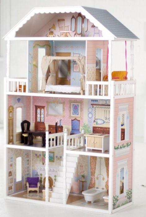 Фото - Будиночки для Барбі - мрія багатьох дівчаток