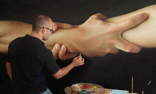 Гіперреалізм у живописі художники