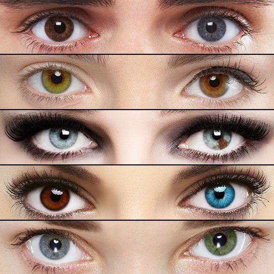 характер людини за кольором очей зелено карі