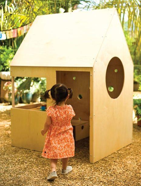 Фото - Як можна зробити дитячі будиночки своїми руками з дерева?