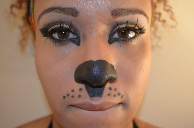намалювати кішку на обличчі дитини