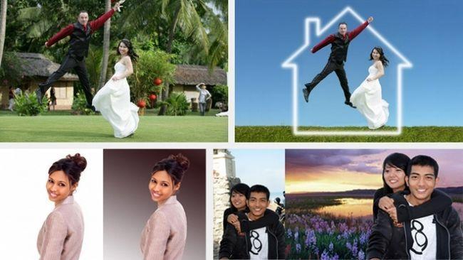 фони для весільних фотографій