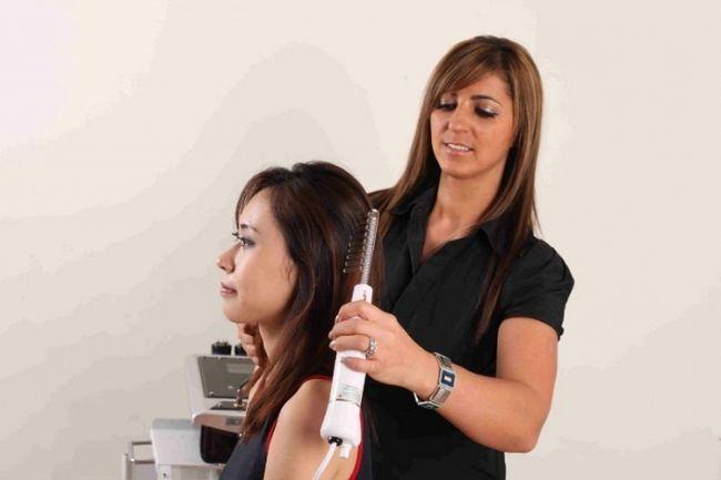 Фото - Як застосовується дарсонваль для волосся: відгуки та процедури