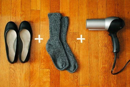 як швидко розносити нове взуття