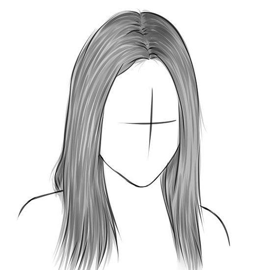 Фото - Як малювати волосся природно і красиво.