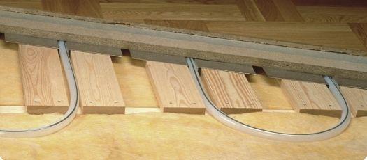 як зробити дерев'яну підлогу теплим