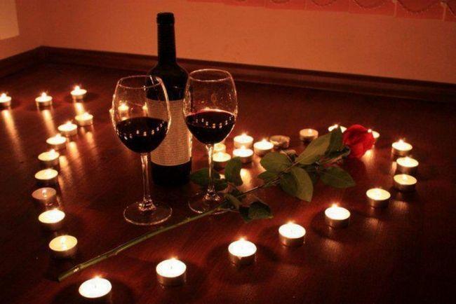 запрошення чоловікові на романтичний вечір