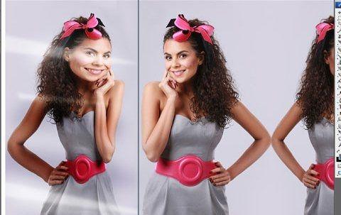 Фото - Як в Фотошопі зробити дзеркальне відображення тексту і фото