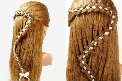 Фото - Як вплести стрічку в косу красиво?