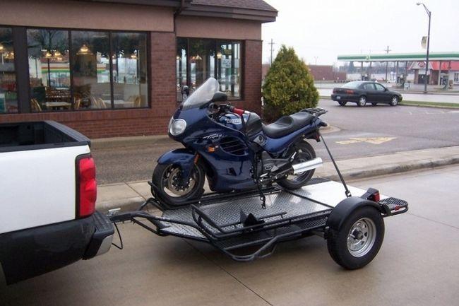 Фото - Як вибрати причіп для перевезення мотоцикла?