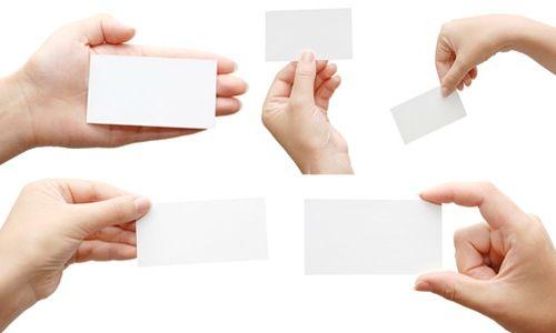 Фото - Якою має бути візитна картка