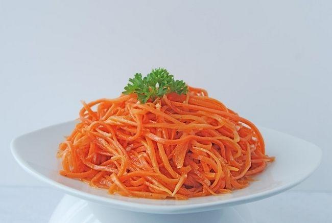 Салат з корейської моркви