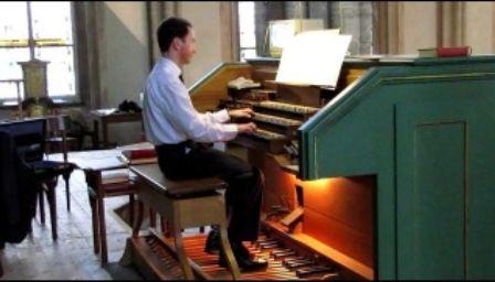 полонез Огінського орган