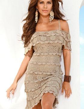 Фото - Літнє плаття гачком. Поради з в'язання