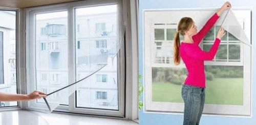 Фото - Літо. Пора думати про те, як встановити москітну сітку на пластикове вікно?
